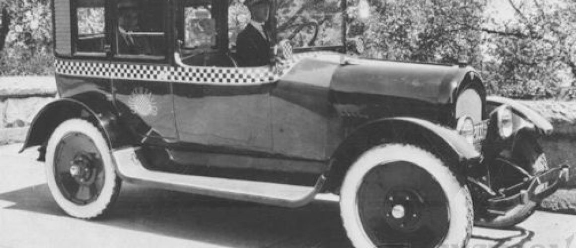 1922 Checker FIRST Taxi Cab