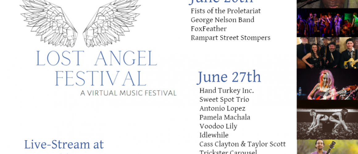 Lost Angel Festival Poster v2 (Small)